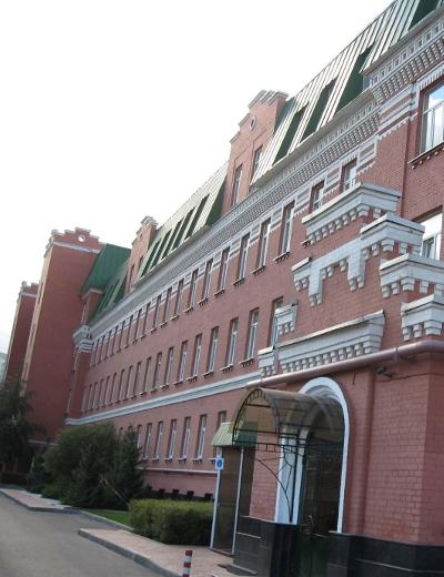 Фасад офисного комплекса